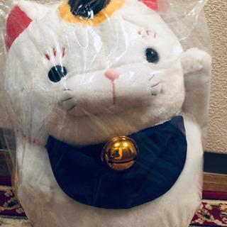 ひげまんじゅう招き猫参