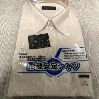【値下げしました】形態安定シャツ 半袖 レギュラーカラー Mサイズ