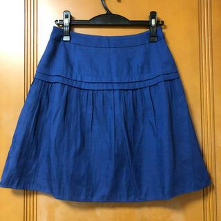 テチチ ブルースカート 美品