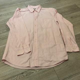 【値下げしました】シャツ ピンク ユニクロ Lサイズ