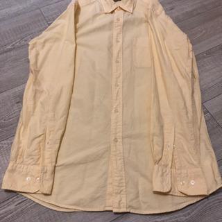 【値下げしました】シャツ 黄色 ユニクロ