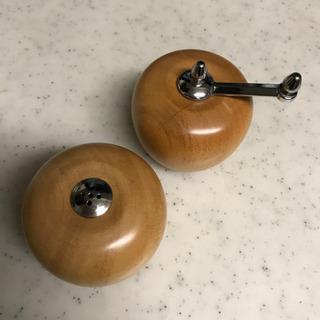 りんご型卓上ソルト&ペッパー
