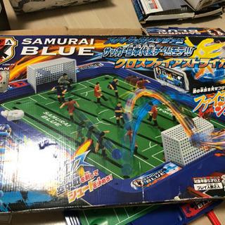 〈お値下げ〉サムライブルー   サッカーゲーム