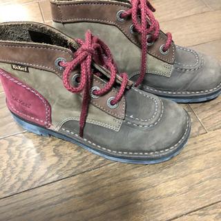 22cm Kickers 靴