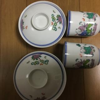 再さい値下げ💕秀水 夫婦茶碗 湯呑セット