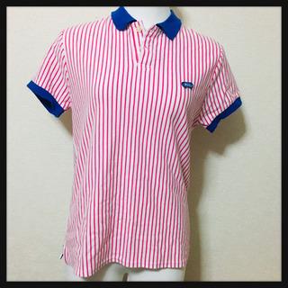 【RODEO CROWNS】ポロシャツ ストライプ柄 元気カラー...