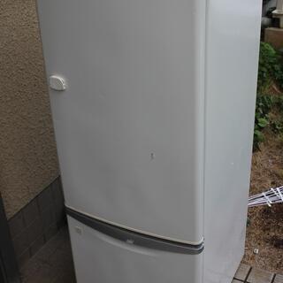 無料 2ドア冷蔵庫 165L 宮前区
