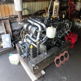 小型中古船舶用 ディーゼル エンジン ヤンマー 4JH2-DT