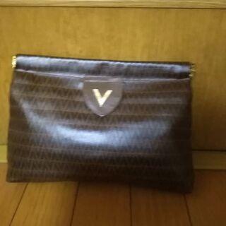 VALENTINO セカンドバッグ ITALY製 レア物 稀少価...