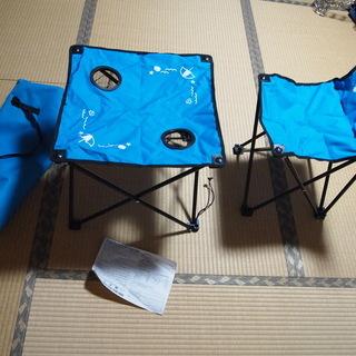 折畳み椅子、テーブルセット
