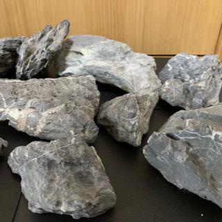 アクアリウム 龍王石 13pcs 中古6.6kg - その他