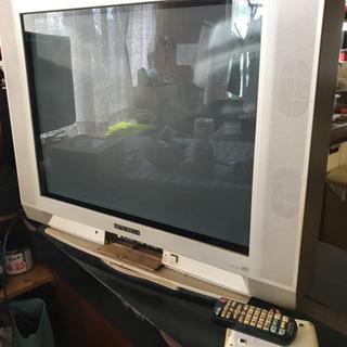 ブラウン管テレビとチューナー