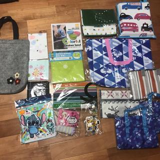 色々な保冷バッグ、トートバッグ、小物類まとめて17点セット
