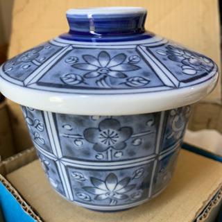 茶碗蒸し用食器5客セット(新品未使用)