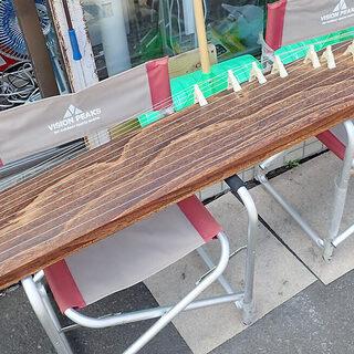 札幌市 すだれ彫り お琴 和楽器 全長約184cm