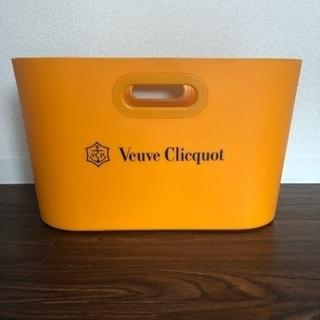 非売品 シャンパンクーラー ヴーヴ・クリコ レア シャンパングラス付き