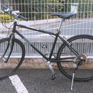 クロスバイク 黒 26インチ
