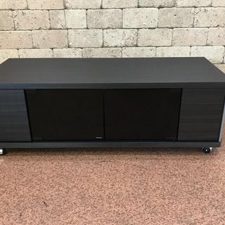 S115 新品 キャスター付 テレビボード 高さ32cm 奥行3...