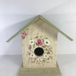 鳥の巣 オブジェ 飾り 木製 デザイン 置物 インテリア 小鳥の家