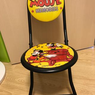 Mickey Mouse ミニ椅子【中古】