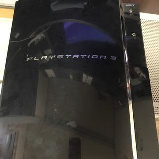 初期型PS3 クリアブラック&ソフト