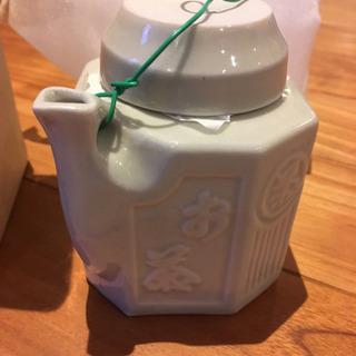 【信楽焼】汽車土瓶 昔の国鉄お茶水筒 限定復刻版