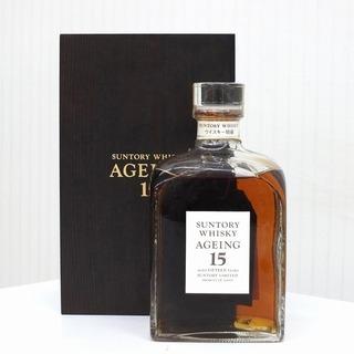 サントリー エイジング15 ウイスキー 750ml