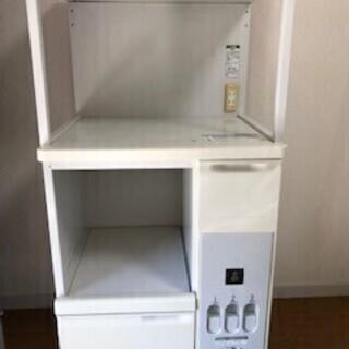 米びつ付きレンジ台