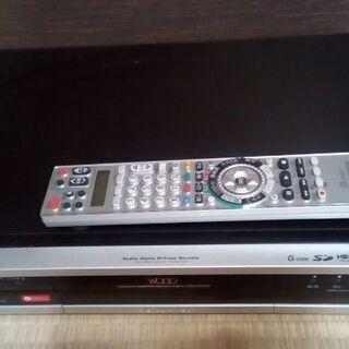 [ジャンク品]HITACHI DVDレコーダー 部品取り用として