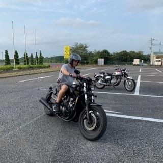 大型バイク乗り方指導