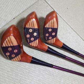 ゴルフクラブ HONMA  フェアウェイウッド3本セット