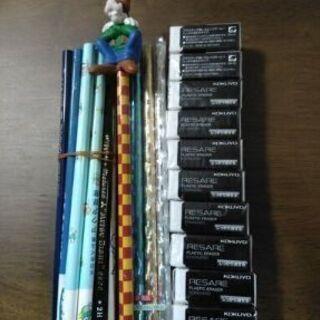 鉛筆と消しゴムセット