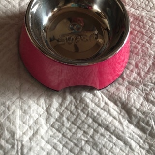 猫用くっ付き食器、ペット用食器、猫用リードなど値下げしました(^^)
