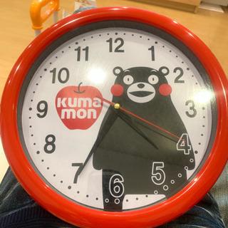 くまモンの壁掛け時計
