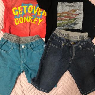 120 パンツ Tシャツセット