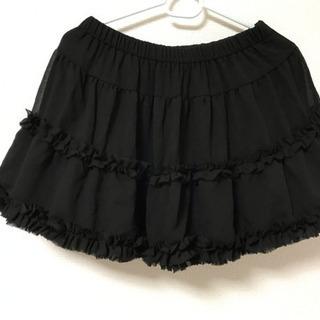 黒のミニスカート【美品】