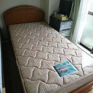 【値下げ‼️】期間限定‼️8月22日まで!シングルベッド