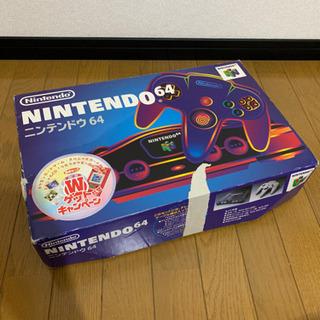 ニンテンドー64 カセット付き