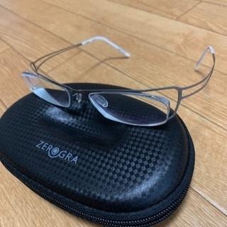 不要になったメガネのフレームです。