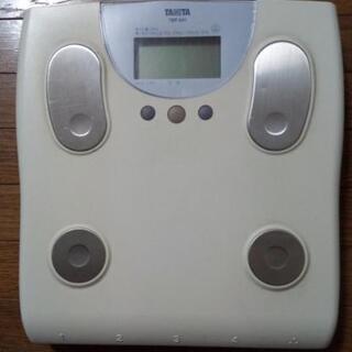 現在お取引中です。 タニタ 脂肪計付きヘルスメーター 体重計