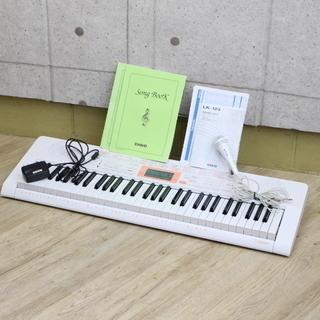 R262)【美品】カシオ 電子キーボード61標準鍵 光ナビゲーシ...