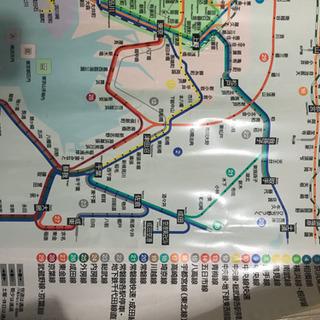 JR東日本車内路線図シール