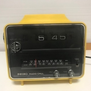 昭和レトロ SEIKO RADIO CALL  SDRA-942...