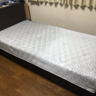 (取引中)東京ベッド シングルベッド+マットレス