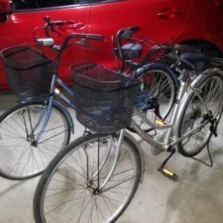 無料で自転車差し上げます!