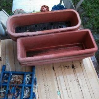 不要になった、プラスチック植木鉢、その他ガラクタ無料で差し上げます - 大野城市