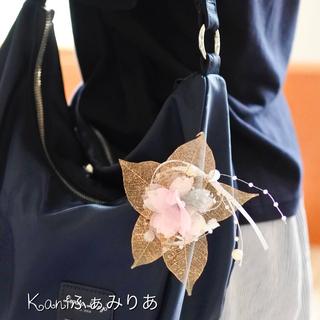 スワロフスキーがキラリと光る桜のブローチ♥いつでもイベント価格♥
