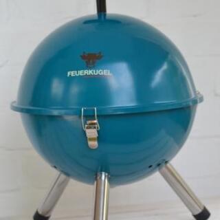 海外製BBQグリル キャンプにも 新品 Blaue Feu…