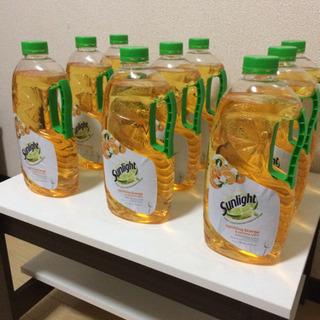 新品 サンライト 食器用洗剤 オレンジの香り   1.5ℓ 9本...