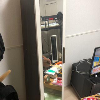 鏡  収納付き